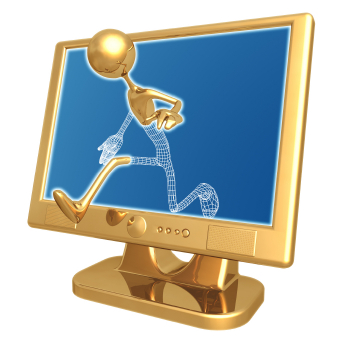 Gold figure walking out of monitor.jpg