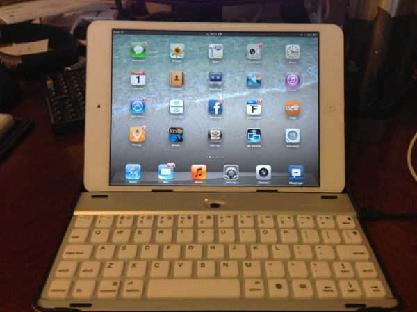 RK Ipad w keyboard